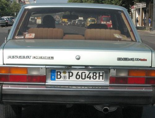 Peugeot 604 Turbo Diesel
