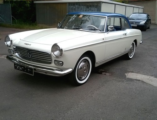 Peugeot 404 Injection Coupe