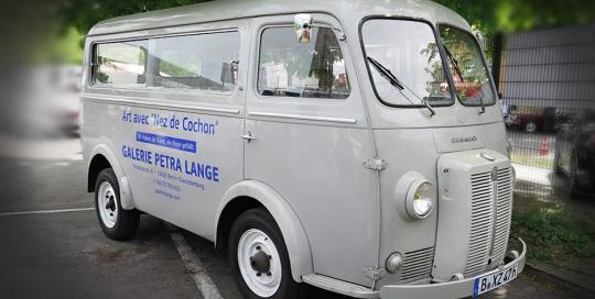 Peugeot Bus D4B von 1962