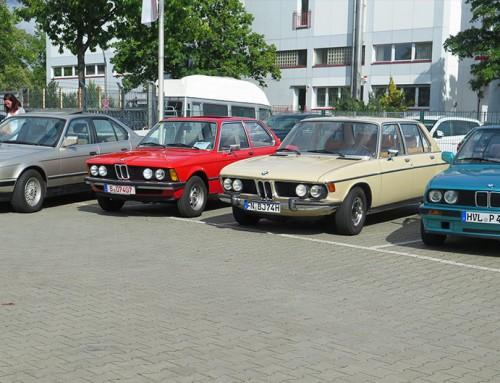 BMW-Klassiker beim Youngtimertag