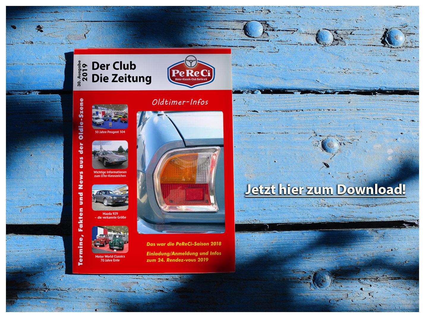 Der Club – Die Zeitung. Termine, Fakten und News aus der Oldie-Szene Die 30. Ausgabe