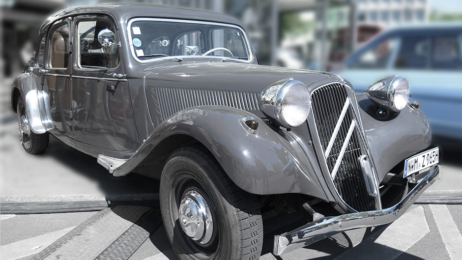 Citroen 11 CV Traction Avant Commerciale 1956
